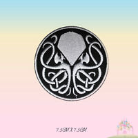 Cthulhu Jelly Fish Super Hero Movie Embroidered Iron On Sew On Patch Badge