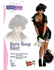 Betty Boop Biker Costume NEW by Secret Wishes Size Adult Small