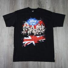 Da Uomo Vintage WWE SMACKDOWN Live tour nel Regno Unito 2010 TEE BIG SHOW Kane T SHIRT L