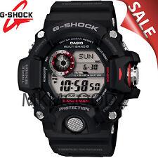 NEW Casio G-Shock GW9400-1 Rangeman Military Black Triple Sensor Atomic Watch!