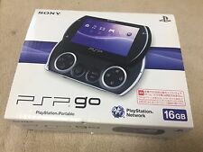 Excellent Sony PSP go 16 GB Piano Black Handheld System N-1000 PB JAPAN