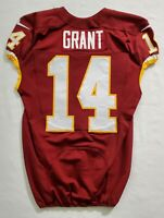 #14 Ryan Grant of Washington Redskins NFL Game Issued Player Worn Jersey
