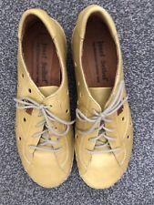 josef seibel 5 Lace Up Mustard Shoes