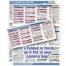 CheatSheet Canon EOS RP Mirrorless DSLR Laminated Mini Guide to take along!