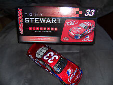 Tony Stewart #33 Old Spice 2006 NASCAR Action 1:24 Diecast Bank 1 of 180