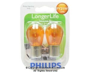 NEW Philips BC10287 12496 LongerLife 2-Pack 12496LLB2 Bulb