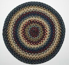 "Homespice Decor ARTEMIS Braided Jute 15"" Round Placemat Trivet"