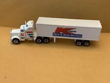 "Matchbox Convoy CY-9 Kenworth Box Truck Code 3 ""K-Mart Tyre & Auto Service"" Box"