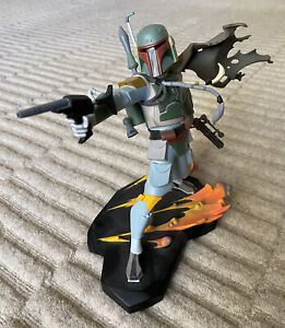 Gentle Giant BOBA FETT ANIMATED MAQUETTE STATUE  - Star Wars