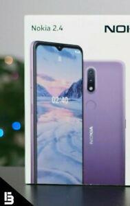 "Nokia 2.4 TA-1274 32GB Dual-Sim GSM Unlocked 6.5"" Android Smartphone Grey W/ Box"
