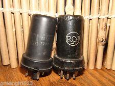 2 Vintage Rca 6J5 Vacuum Tubes Results= 96 93