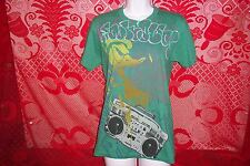 Disney Donald Duck Boombox T-Shirt Womens Small