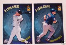 2001 Topps A Look Ahead Lot of 2 Helton & Rodriguez