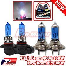 Combo HB3 9005 9140 9145 H7 100W Halogen Gas Xenon Hi High Lo Low Beam 5000K