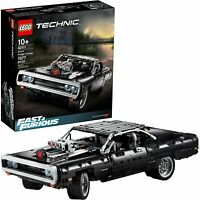 LEGO Technic Fast & Furious Dom's Dodge Charger 42111 Race Car Building Set, New