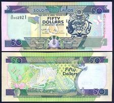 SOLOMON ISLANDS 50 Dollars 2001 UNC P 24