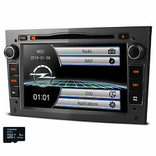 7'' Grey Car GPS Stereo DVD Player Radio Bluetooth Dual Zone For OPEL/Vauxhal