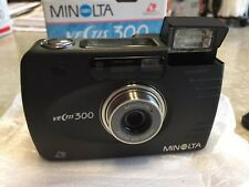 New Minolta Vectis 300 (rare Black Finish Metal Body) Collectors Edition W/case