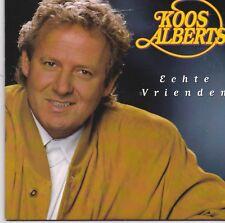 Koos Alberts-Echte Vrienden cd single