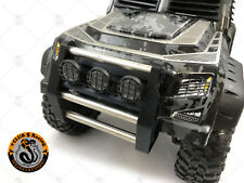 Front Push Bumper w/ Light Pods ( x 3 ) for TRX-4 Tactical Unit