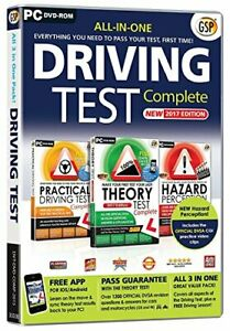 Driving Test Complete PC Fast Free UK Postage 5016488127998