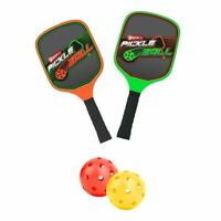 WHAM-O Game Time Pickleball Court with Net Paddles & Balls Outdoor Sports Yard B