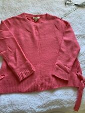 H&M Women's Sweater Wool Alpaca size M Oversize Pink Excellent condition!