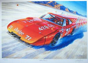 1969 DODGE DAYTONA ART BOBBY ISSAC 1970 NASCAR CHAMP K&K BONNEVILLE SALT FLATS