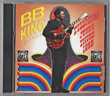 B.B. KING breaks out at The Fillmore, June 6, 1968, on CD