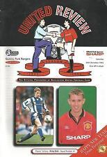 Football Programme  Manchester United v QPR - Premiership - 30/12/1995