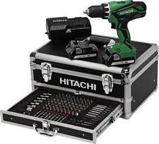 Hitachi 18V DS18DJL Akkuschrauber Powerbox 2x 18 V 1,5 Ah Akkus + 100tlg Zubehör