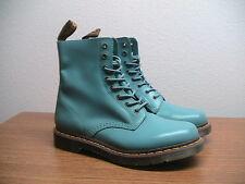 NEW Womens 11, Mens 10 Dr. Martens Pascal Vintage Blue Ankle Boots, Rare Color
