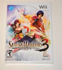 Nintendo Wii games Samurai Warriors3,Academy champions soccer,Death JR roof evil