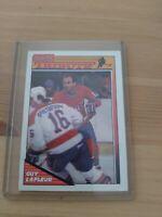 Guy LaFleur 1991 TOPPS GOODBYE GUY TRIBUTE CARD MONTREAL CANADIENS HOCKEY NHL