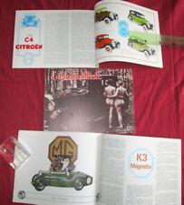 L'automobiliste N°21 : moteur JAP  ,Robert Senechal ,MG K3 ,les C4 CITROEN