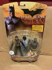 Batman Begins Ninja Bruce to Batman Action Figure Mattel 2005 New In Box
