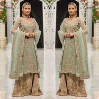 Indian Bollywood Pakistani Salwar Kameez Maria B Designer Anarkali Bridal Suits