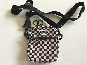 Vans New Street Ready II Crossbody Powder Pink Checkerboard Women's OSFA