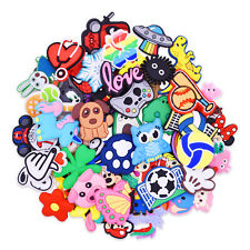 US Stock 30-200pcs Shoe Charms Accessory for Child Birthday Gift Random Styles