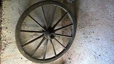 alte Wagenräder - Holzräder