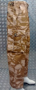 Genuine British Army Desert Camo Combat Lightweight Issue DPP Trousers - NEW