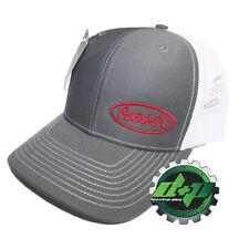 Peterbilt trucks Charcoal / White Mesh back Richardson diesel base ball cap hat