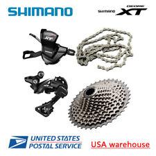 Shimano XT M8000 11 Speed Drivetrain Groupset 40T 42T 46T Cassette (OE)