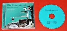 CD - DIE SCHATZINSEL erzählt von Walter Kreye NEUWERTIG