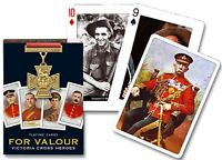 For Valour Victoria Cross Heroes set of 52 playing cards + jokers (gib)