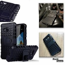 Sony Xperia Z5 Compact Rugged Case Tech 2 Survival High Impact Rock Cover Black