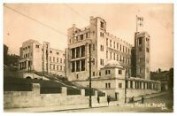Antique WW1 military RPPC postcard 2nd Southern Military Hospital Bristol