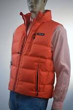 Ralph Lauren RLX Logo Orange Puffer Down Vest Jacket -Medium - NWT $145