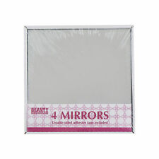Unbranded Glass Square Decorative Mirrors