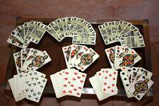 1920 J Muller  ancien jeu de cartes tarot des villes villages Suisse complet